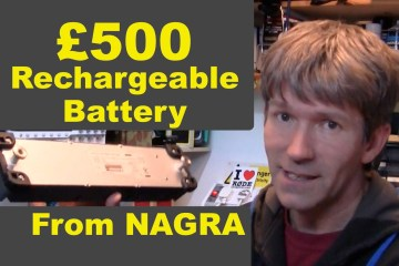 Nagra £500 Rechargeable Battery Pack Apparently Has £22 Worth Of Batteries Inside