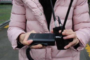 Saramonic SR-WM4C Camera Wireless Mic Range Testing