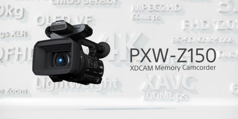 Sony PXW-Z150 4K Camera Function Video