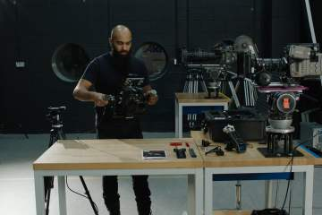 Junior Letus Helix Gimbal + ARRI Mini with Test Footage from Mr Helix