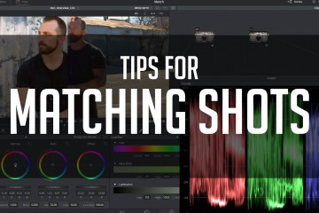Tips For Matching Shots: DaVinci Resolve Colour Correction Tutorial from Casey Faris