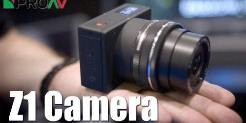 Z1 Camera Micro 4/3 Camera at BVE 2016
