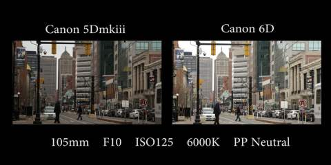 Canon 5D MKIII Vs Canon 6D Video Test from Full Circle Studios