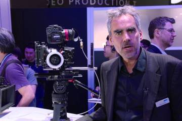 NAB 2016: ARRI Pro Camera Accessories for Sony, Panasonic and RED