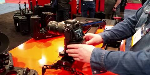 Quick Look At The ShooTools AutoPan System At NAB 2016