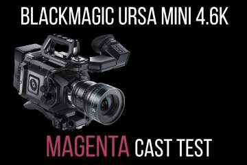 URSA Mini 4.6K Magenta Colour Cast Test from Simon Cook Films