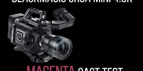 URSA Mini 4.6K Magenta Colour Cast Test from Simon Cook Films