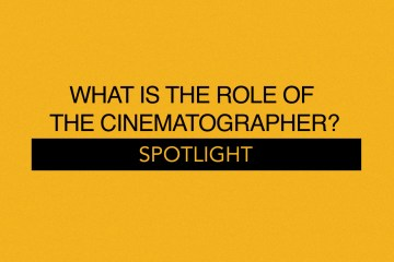 What is the role of the Cinematographer