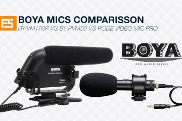 Boya Mics Comparison Test from Frank Suero
