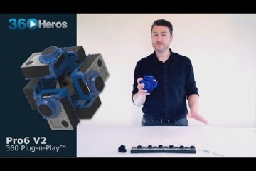 360Heros Pro6 V2 360 Video Gear Overview