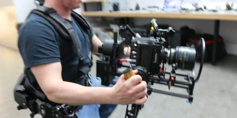 Stuart Howell Tests The Steadicam Double Helix Combo