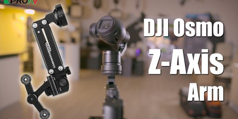 Z-Axis Arm For The DJI Osmo
