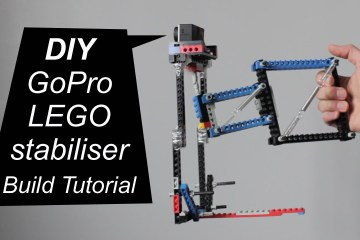 A DIY GoPro LEGO Stabiliser Build Tutorial