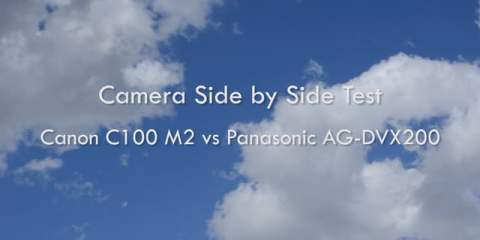 Canon C100 MK II Vs Panasonic AG-DVX200 Camera