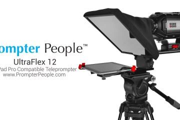 iPad Pro and Surface Pro Teleprompter: UltraFlex12