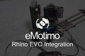 eMotimo Spectrum st4 and Rhino Camera Gears's EVO Slider Integration