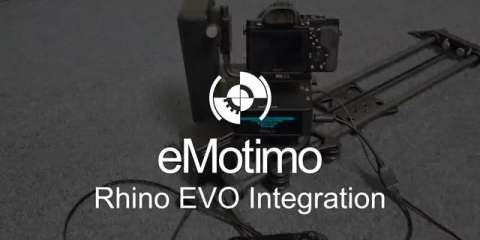 eMotimo Spectrum st4 and Rhino Camera Gears's EVO Slider Integration