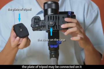 Nebula 4100 remote control camera and how to use the thing