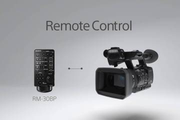 Sony HXR-NX5R NXCAM Camera Function Video