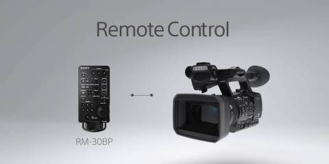 Sony HXR-NX5R NXCAM Camera Function Video