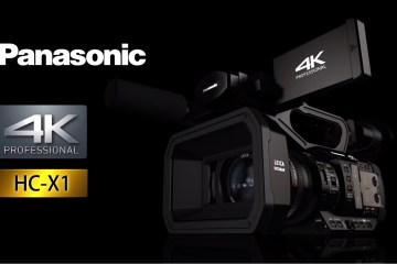 Panasonic HC-X1 Professional Handheld 4K Camcorder