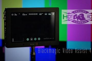Blackmagic Video Assist 4K Review Part 1 Hot Rod Cameras