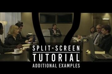 INVISIBLE SPLIT-SCREEN TUTORIAL No2 The David Fincher Technique