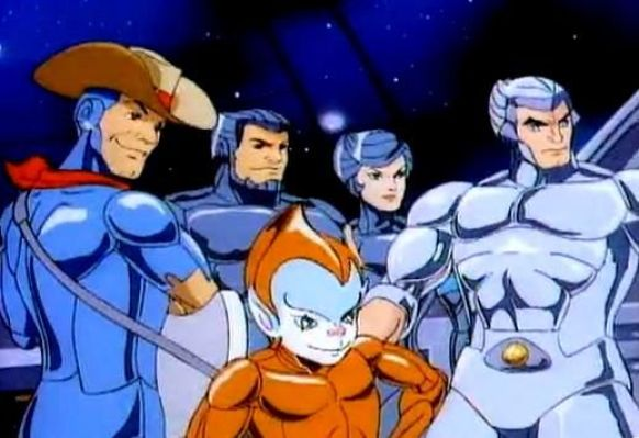 Los Halcones Galácticos, personajes que amabas de niño
