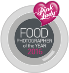 BEING A SEMI FINALIST AND SECOND IN THE HIGHLY COMMENTED OF PINK LADY FOOD PHOTOGRAPHER OF THE YEAR AWARD 2016 - THE WORLDS MOST ACCLAIMED FOOD PHOTOGRAPHY COMPETITION MADE ME LOVE WHAT I AM DOING EVEN MORE PASSIONATELY!