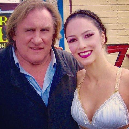 Gerar Depardieu con Kerry en el Circo Raluy