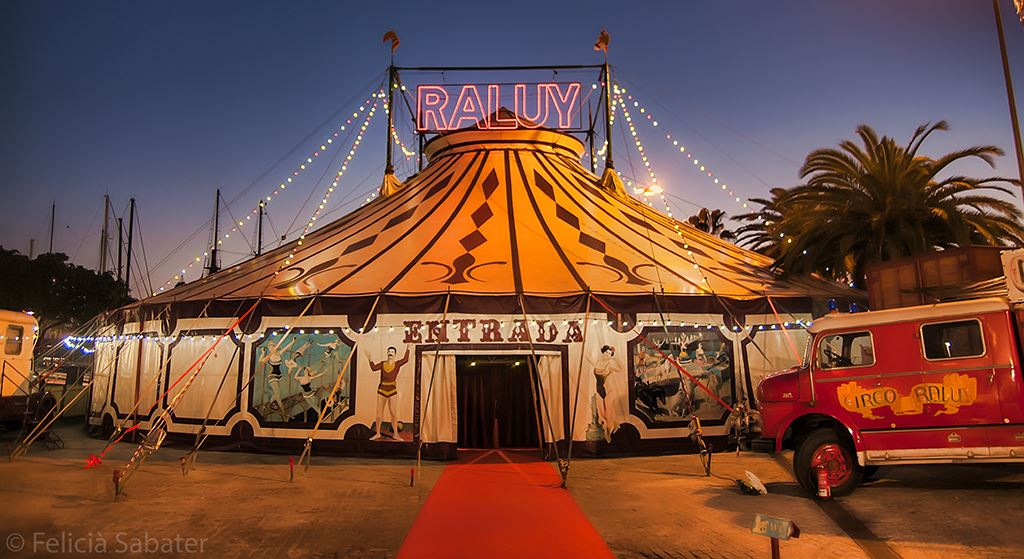 La carpa del Circo Raluy