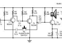 Low-cost intercom circuit electronic