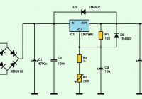 variable power supply lm338k
