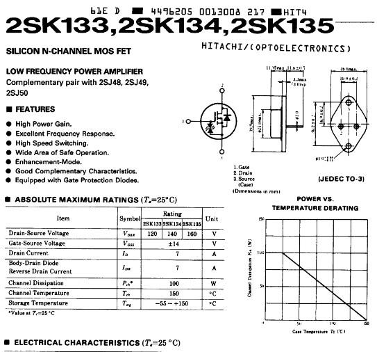 SK133, SK134, SK135 Datasheet