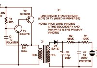 3V Strobe Light Miniature Circuit Diagram