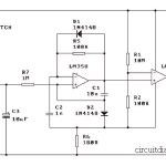 Simple Electronic Siren Based LM358
