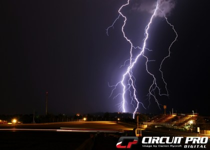 The rain in spain....Spectacular lightning show