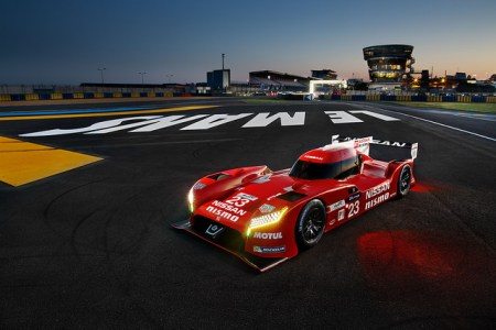 Three radical front-engined, front-wheel-drive Nissan GT-R LM NISMOs will compete at Le Mans with an international squad of drivers taken from the worlds of Formula One, sportscar racing and Nissan's own GT Academy.