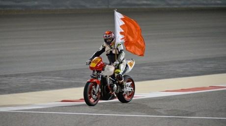 4 AL KOOHEJI WITH FLAG