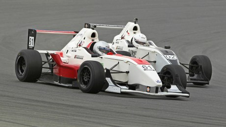 Aleks Karkosik wins two Formula Gulf Academy races at Dubai Autodrome