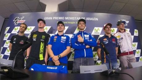 Aragon Press conference