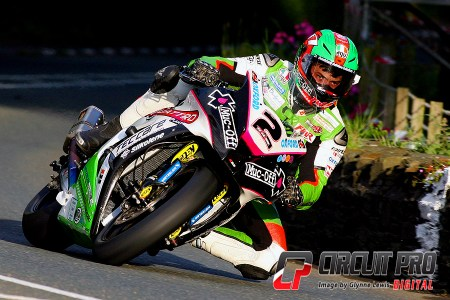 Consistently fast but not able to match McGuinness, Hillier settled for a hard fought and creditable 2nd in the main race