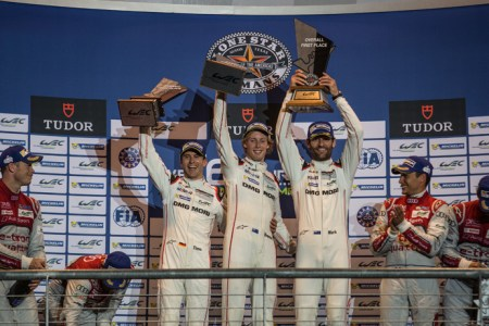 Car #17 / PORSCHE TEAM (DEU) / Porsche 919 Hybrid Hybrid  / Timo Bernhard (DEU) / Mark Webber (AUS) / Brendon Hartley (NZL) - FIA WEC 6 hours of COTA at Circuit Of The Americas - Austin - United States