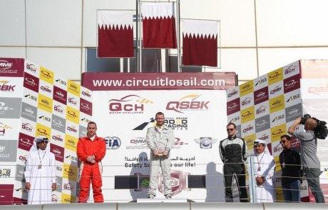 Qatar challenge round 2 podiumDecember 20, 20141-3