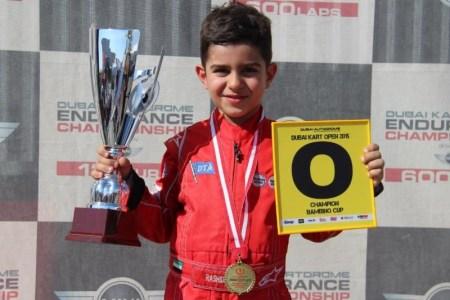 Rashid takes his second 'O' Plate kart title