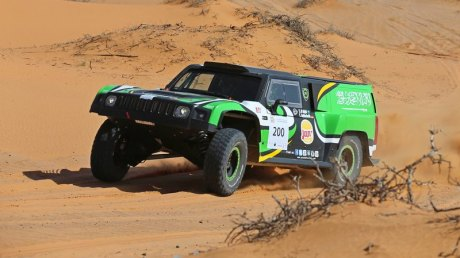 Yazeed Al-Rajhi (SAU)/Timo Gottschalk (DEU) Hummer                                   8hr 50min 58sec