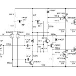 200W MOSFET Amplifier based IRFP250N