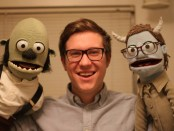 Ezra Bartsch is the co-owner of a puppet-making business. (Photos submitted by Ezra Bartsch)