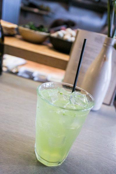 Muddled Herb Soda