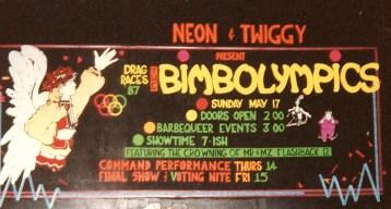 1987 Mr & Mz Flashback 11 Neon and Twiggy Step Down